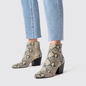 Dolce Vita Coltyn Leather Ankle Booties